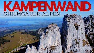 KAMPENWAND ÜBERSCHREITUNG - November 2020  // Leichte Kletterei über dem Chiemsee feat. @ripperkon