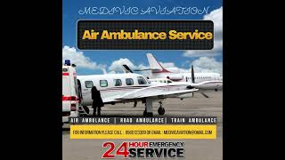 Get the Safest Air Ambulance Service in Bangalore by Medivic Aviation