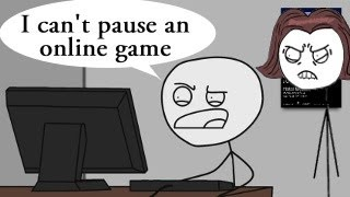 How to explain MOM that online games can