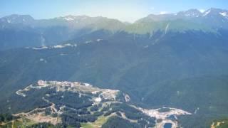 Роза Пик, Сочи. Высота 2 320 метров над уровнем моря.