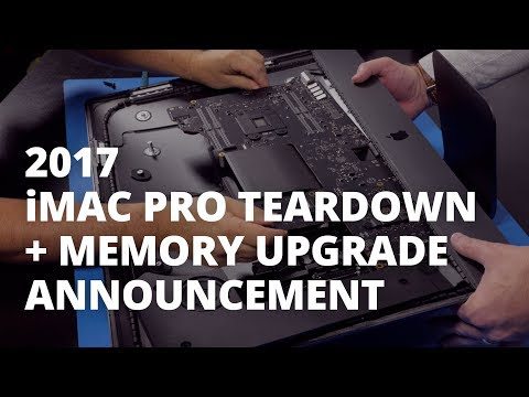 Teardown of apples imac pro shows ram upgrades possible with owc said that it will be selling ram installations and even a do it yourself kit in the near future but that given memory and labor costs and the solutioingenieria Choice Image