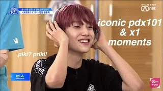 iconic produce x 101 & x1 moments