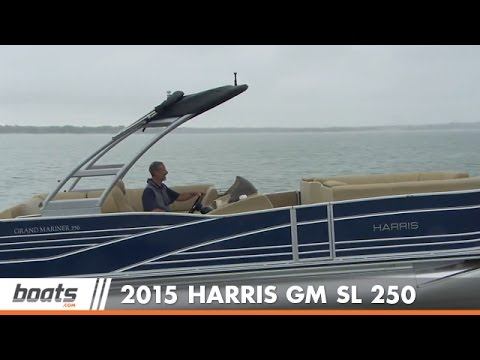 2015 Harris Grand Mariner SL 250: Boat Review