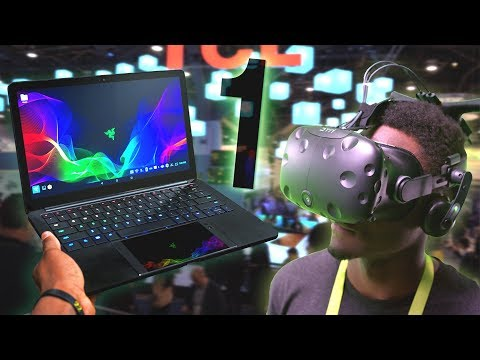Dope Tech of CES 2018! [Part 1] (видео)