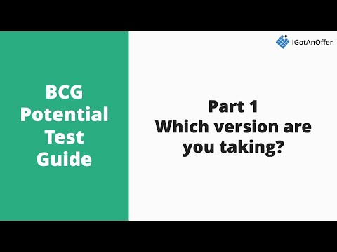 It Takes Lot Of Energy To Prepare For >> Bcg Potential Test How To Prepare 2019 Igotanoffer