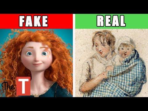 The Disturbing REAL STORY Behind Disney's Brave