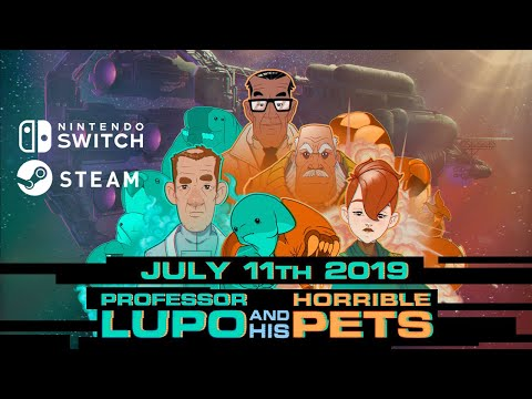 Release Date Announcement! Professor Lupo and his Horrible Pets thumbnail