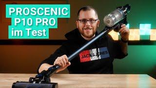 Proscenic P10 Pro im Test - Das leistet der Akku-Staubsauger für unter 200 Euro!