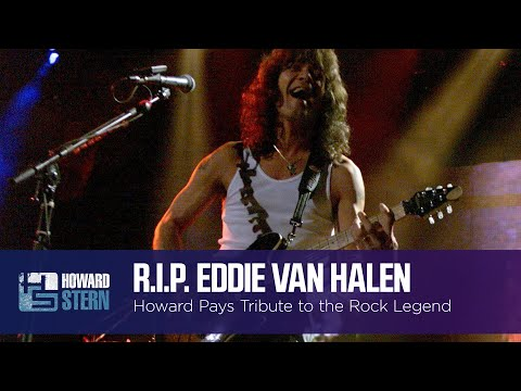 Howard and the Stern Show Pay Tribute to Eddie Van Halen