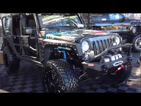 THE JEEPS Of SEMA