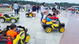 Trò Chơi Bé Chơi Công Viên Xe Điện ❤ ChiChi Kids TV ❤ Đồ Chơi Trẻ Em