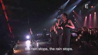 Cesse La Pluie LIVE - Anggun (with English subtitles)