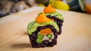 Vegan Sushi Roll Recipe - Amazing Vegan Food Recipe
