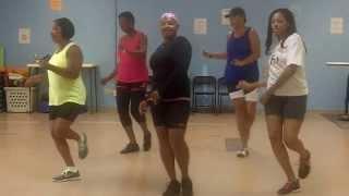 Wifey line dance - New Orleans, LA