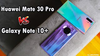 Huawei Mate 30 Pro vs Samsung Galaxy Note10+: Reverse Wireless Charging, Night Mode