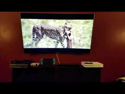 "Samsung 55"" Q7C QLED Review in progress QN55Q7C"