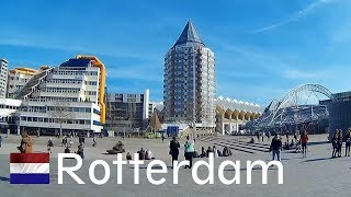 HOLLAND: To Rotterdam City By Train