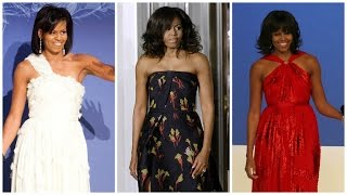 The Deep Symbolism of Michelle Obama's #FarewellSpeech Dress