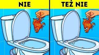 12 rzeczy, których nie powinieneś wrzucać do toalety
