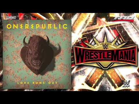 """WWE: WrestleMania 35 - """"Love Runs Out"""" - 2nd Official Theme Song"""