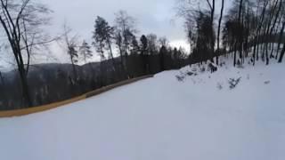 Fakro Tor saneczkowy Muszyna - film VR 360 Trikke Skky 2017 - by air-video.pl