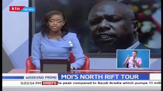 Gideon Moi's  North Rift Tour: Discussions focus was on development