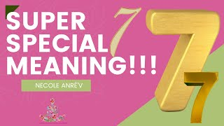 Gambar cover Number 7 - Why Do I See Number 7 Seven - The Spiritual Meaning To 7 - Spiritual Guidance