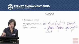 Ағылшын тілі - 09 - Gerunds - Infinitive - Participle