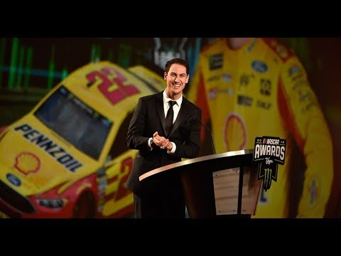 Joey Logano's full champion's speech