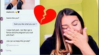 CATFISHING My Boyfriend To See If He Cheats..Leads To Real BREAK UP