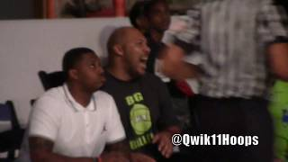 Los Angeles Lakers Lonzo Ball vs Team L.A. + LaVar Ball talking smack from his seat