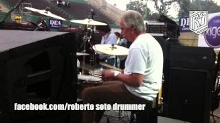 The Beatles Original Drummer - Pete Best In Lima Part 1 - Cry For A Shadow