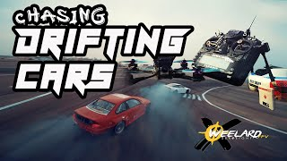Chasing Drifting Cars | FPV Freestyle