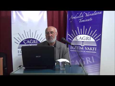 16 Aralık 2014 - Sadık Ünal ile Riyazü's-Salihin Dersleri