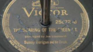 """""""The Wearing of the Green"""" -  Bunny Berigan- 1938"""