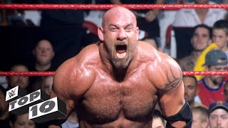 Goldberg's most extreme moments: WWE Top 10