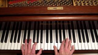 """""""Take The A Train"""", How to Build a Solo, Jazz Piano Tutorial"""