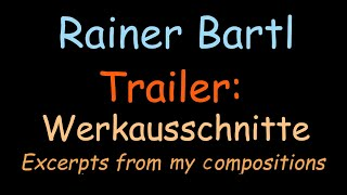 Rainer Bartl, Trailer: Ausschnitte aus Aufführungs-Videos (16') / Excerpts from Performance Videos