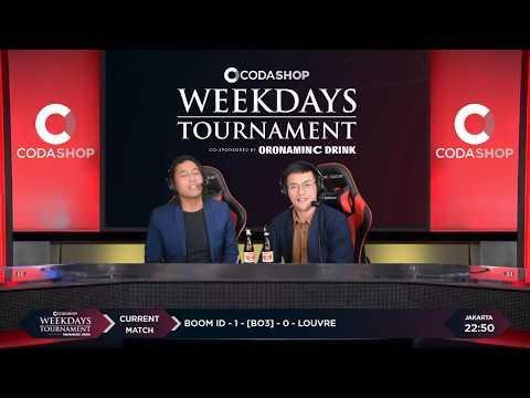 BOOM ID VS LOUVRE MATCH 2 CODASHOP Weekdays Tournament Kualifikasi 2 Day 3