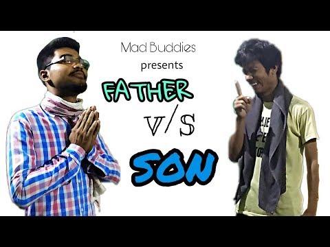 FATHER v/s SON (Part-1) |  Mad Buddies | ft. Thomash Lagachu Vines