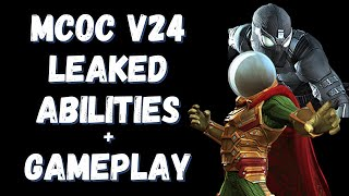 V24 Mysterio & Spiderman Stealth Suit Leaked Abilities + Gameplay - Marvel Contest of Champions