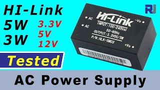 Review of HI-Link AC to DC 3.3V 5V, 12V 5W converter