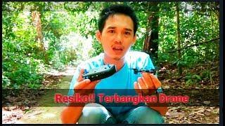 preview picture of video 'Menerbangkan Drone di Hutan Kalimantan'