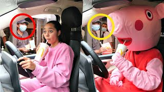 McDonalds Drive Thru Swap Challenge Prank (Tiana Pranks)