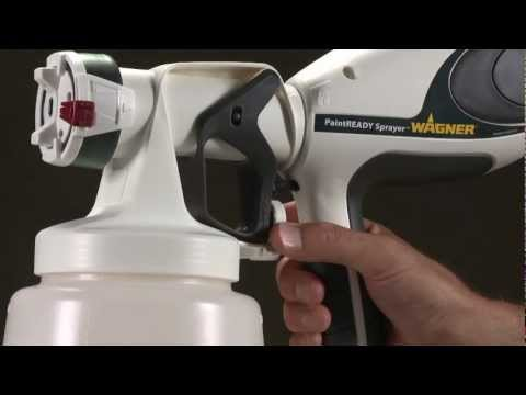 PaintREADY Sprayer Painting Video
