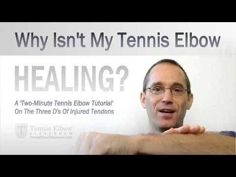 Video Why Isn't My Tennis Elbow Healing?