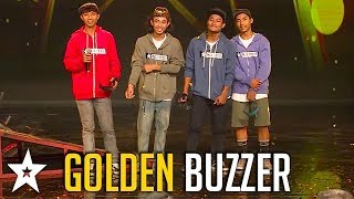 BMX Team Get GOLDEN BUUZER on Myanmar