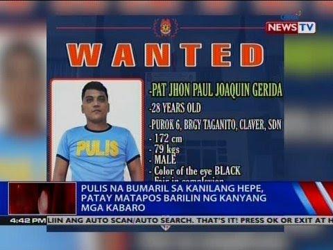 [GMA]  NTVL: Pulis na bumaril sa kanilang hepe, patay matapos barilin ng kanyang mga kabaro