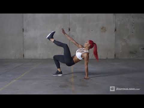 Crab Toe Touch   Exercise Videos & Guides   Bodybuilding com