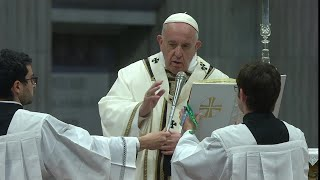 Live Holy Week with the Pope